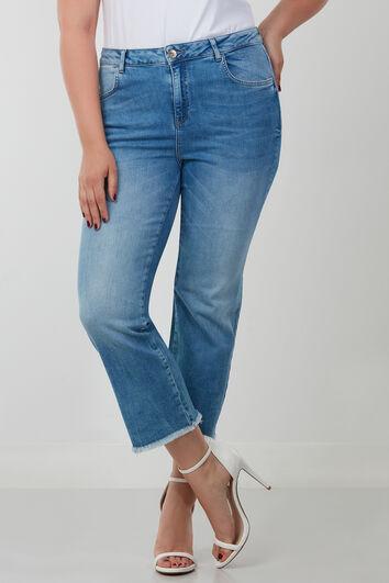 Straight Leg Capri-Jeans LILY