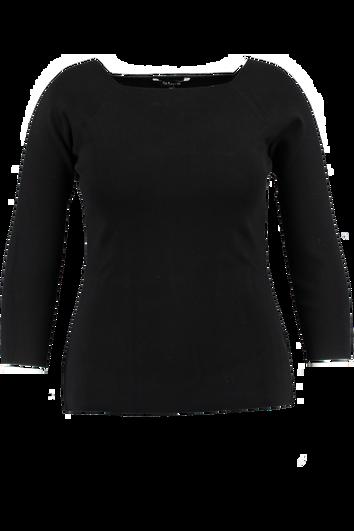 Pullover mit quadratischem Ausschnitt