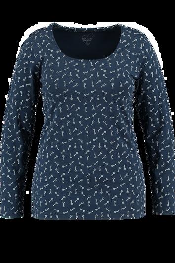 Basic T-Shirt Allover-Print