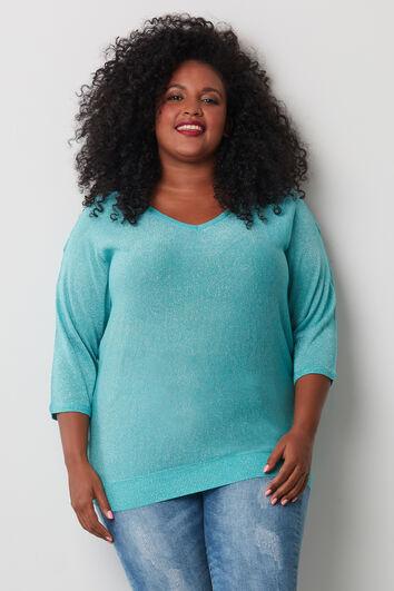 Pullover mit offener Schulterpartie