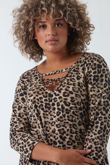 Shirt mit Panther-Print