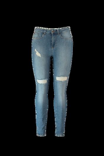 A-Shape Skinny-Jeans im Stonewashed-Look