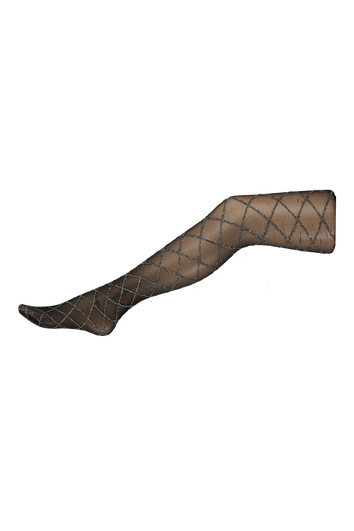 Lurex-Strumpfhose