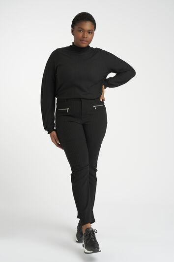 Hose mit Reißverschluss
