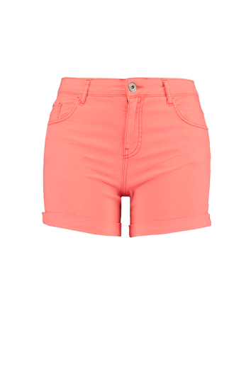 Twill-Shorts in Neon-Pink