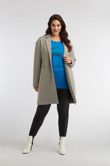 Oversized Jersey-Jacke