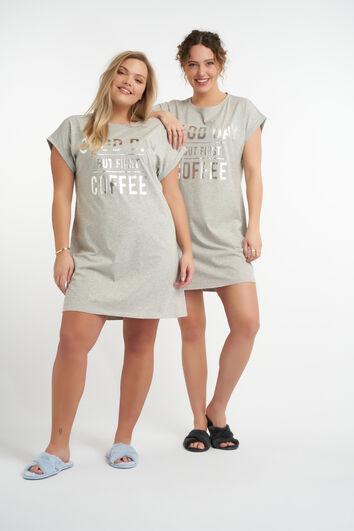 Übergroßes Pyjama-Shirt