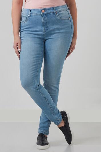 FORMGEBENDE Jeans mit schmalem Beinschnitt