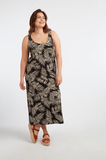 Langes ärmelloses Kleid