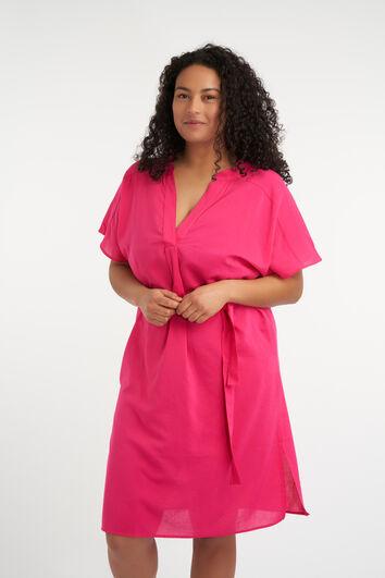 Lange ausgestellte Bluse