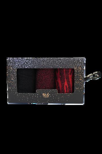Geschenkset mit drei Paar Socken