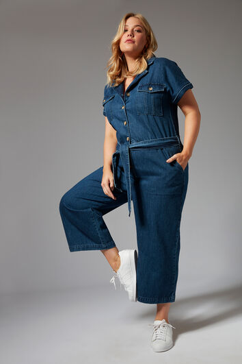 Jeans-Overall