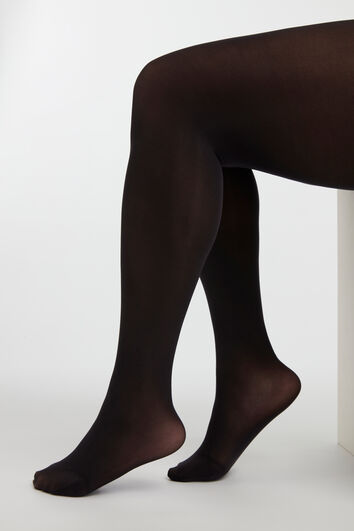 Super dehnbare 3D-Strumpfhose 40DEN