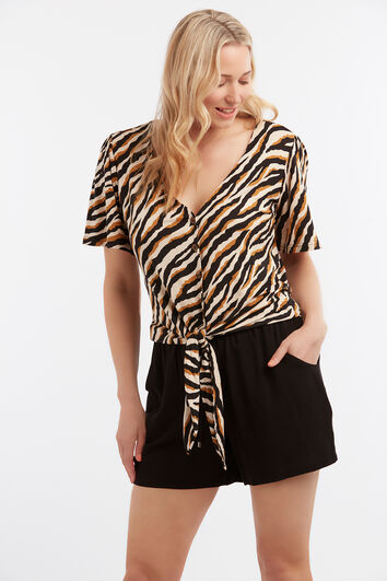 Lookbook Sale Zebra top