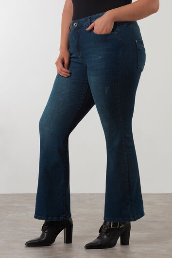 SHAPING Bootcut-Jeans