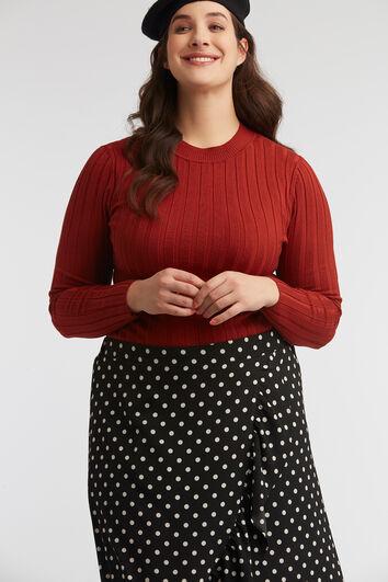 Ripp-Pullover