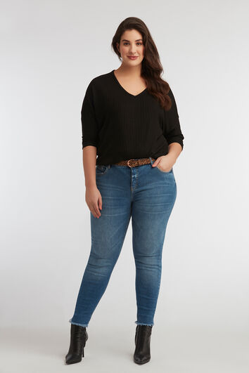 skinny jeans CHERRY mit Gürtel