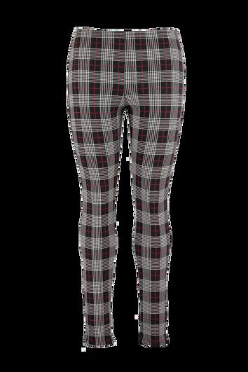 Trikot-Leggings mit schottischem Plaid