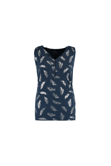 Top mit Folien-Print