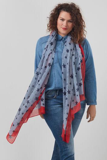 Schal mit Sternen-Print
