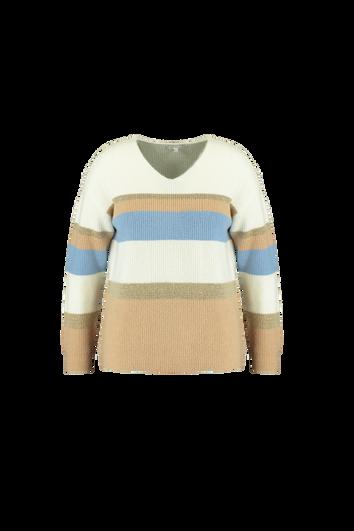 Gestreifter Sweater