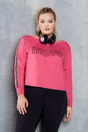 Kürzeres Sport-Sweatshirt