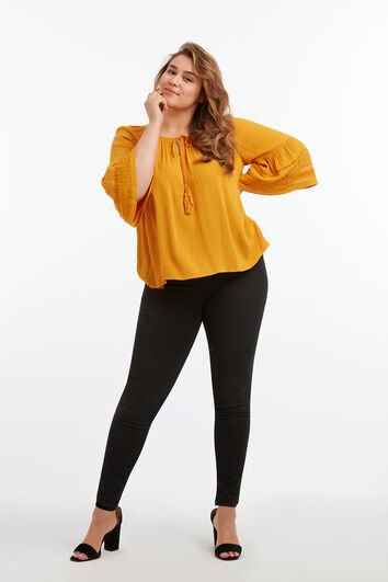 Slim-Fit-Treggings POPPY