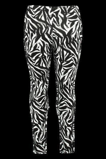 Leggings mit Zebra-Print