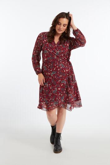Wickel-Kleid