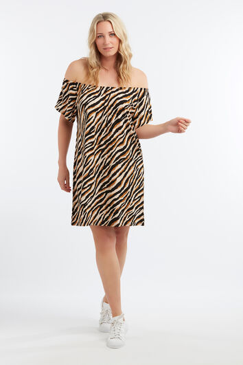 Lookbook Sale Zebra jurk