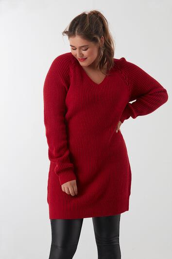 Pullover mit Schnür-Detail