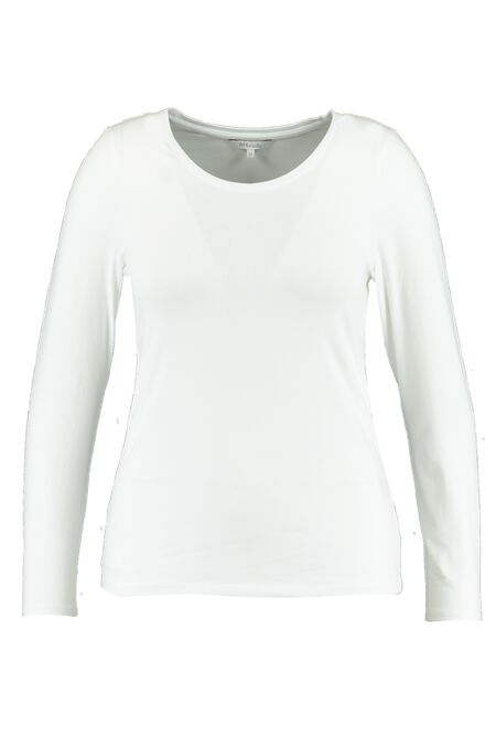 Basic-Shirt mit langen Ärmeln