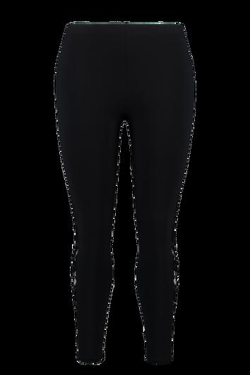 Leggings mit Spitzen-Borte
