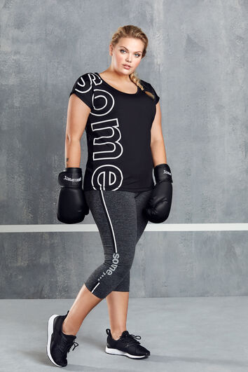 Sport-Leggings mit Print