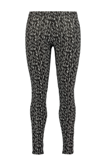Leggings mit Allover-Print