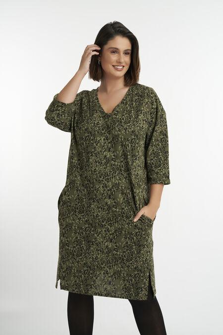 Legeres Kleid mit Print