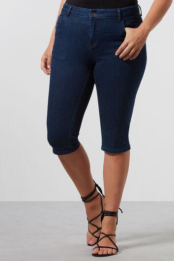 FORMGEBENDE Capri-Jeans im skinny-leg Fit