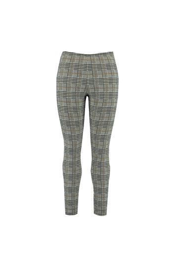 Plaid-Leggings