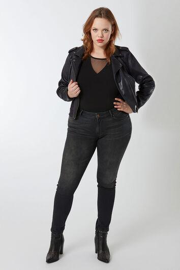 some,... O typ skinny jeans schwarz