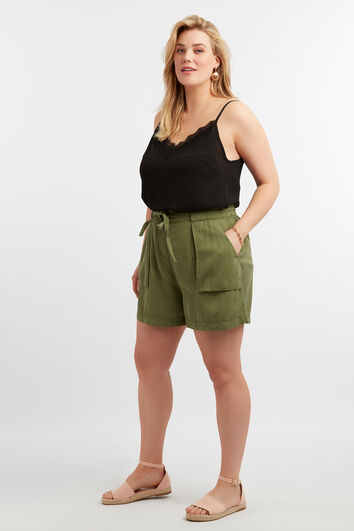 Tencel-Shorts