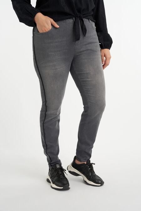 Jeans mit Zierstreifen