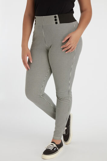 Treggings mit Print