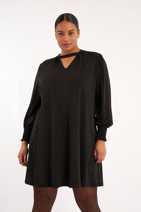 Kurzes A-Figur-Kleid