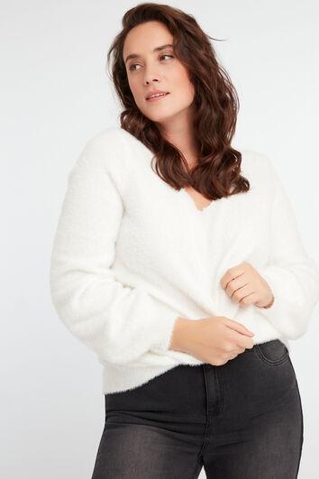 Flauschiges Sweatshirt