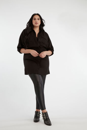 Lookbook Legging with blouse