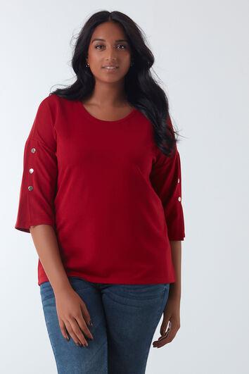 Pullover mit Ärmel-Details