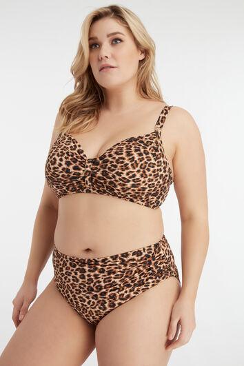 MS Mode Bikini-Oberteil mit Print