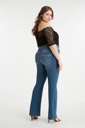 Magic Simplicity Flared-Leg SHAPING Jeans