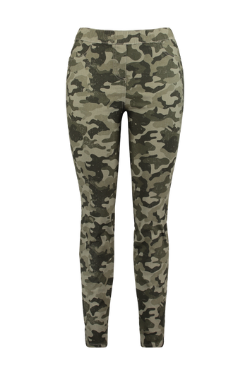Treggings mit Camouflage-Muster