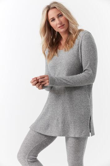 Weicher Ripp-Pullover